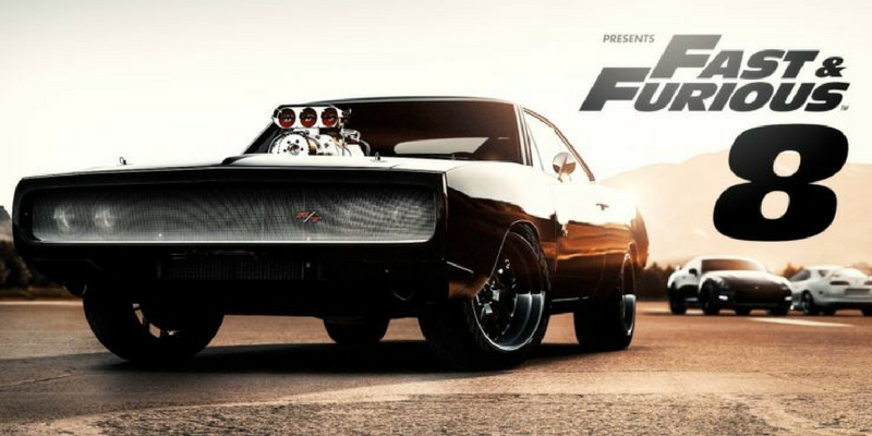 The Fate of the Furious Wallpaper with Dodge Charger car