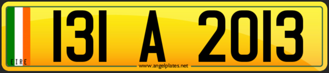 angel plates new ireland number plate format