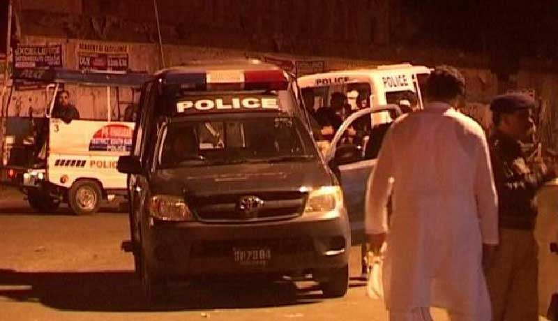 karachi arrests of illegal number plates