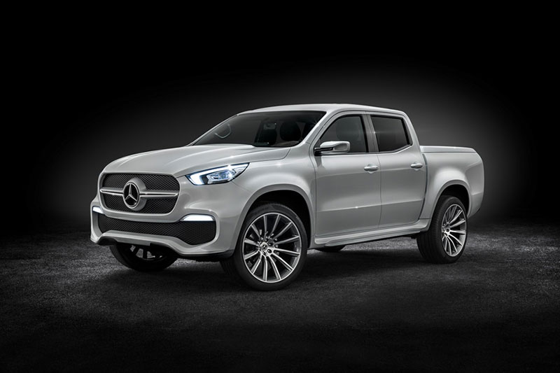 The Mercedes X Class Concept Pick-up Truck