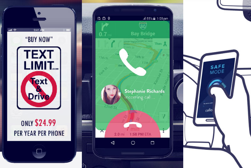 Apps to prevent distracted driving